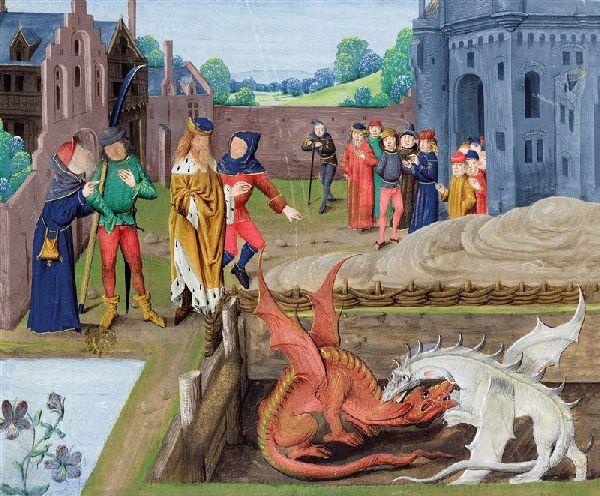 Duendes, hadas y dragones:historia medieval